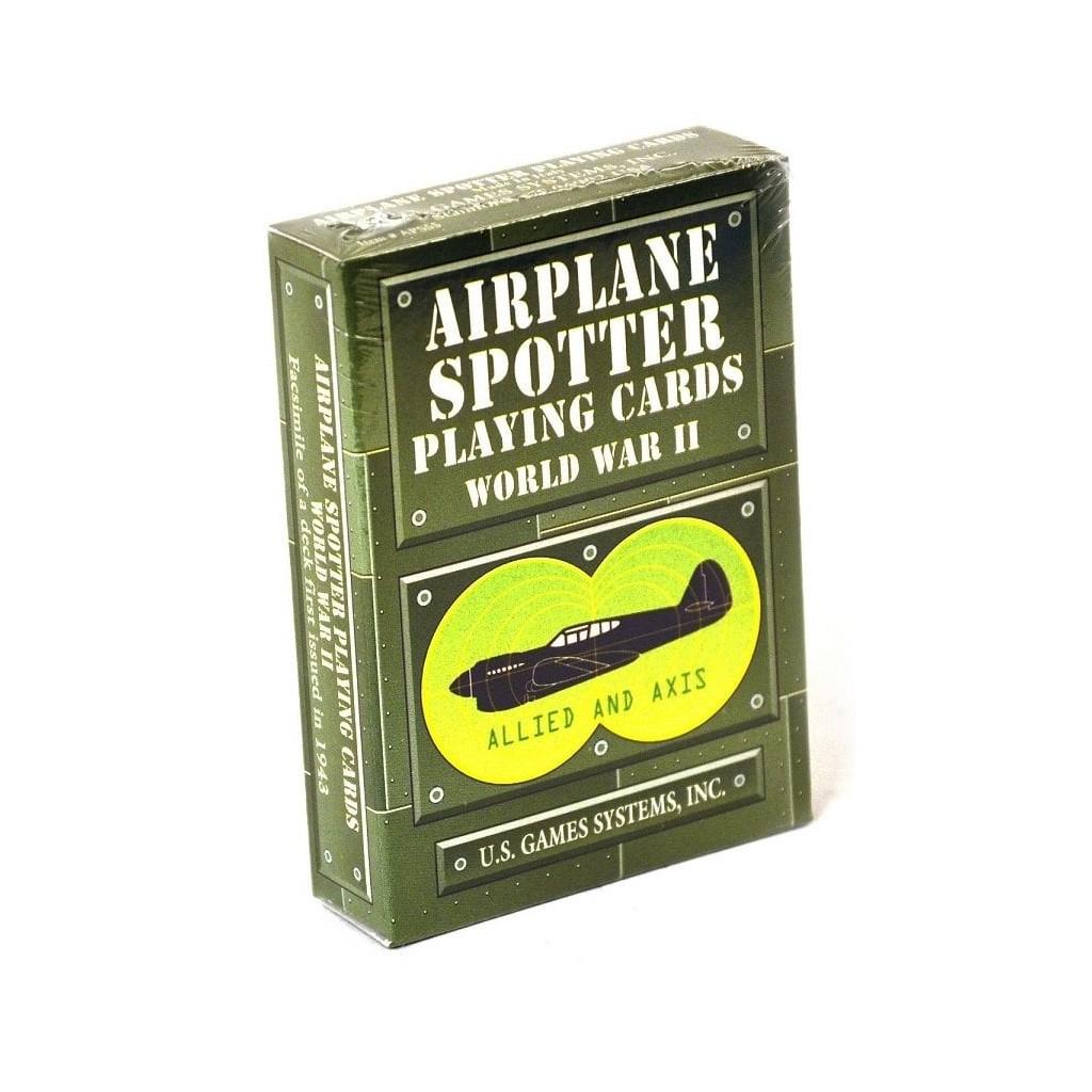"""Carte da gioco """"Aircraft Spotter WW II"""""""
