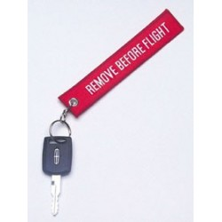 Portachiavi Remove Before Flight 15x3 cm