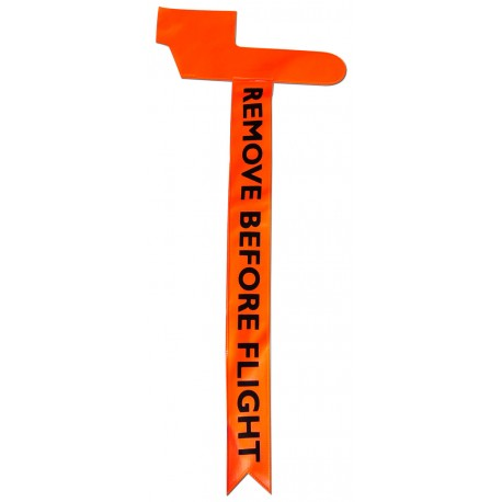 PITOT HEAD COVERS – REMOVE BEFORE FLIGHT