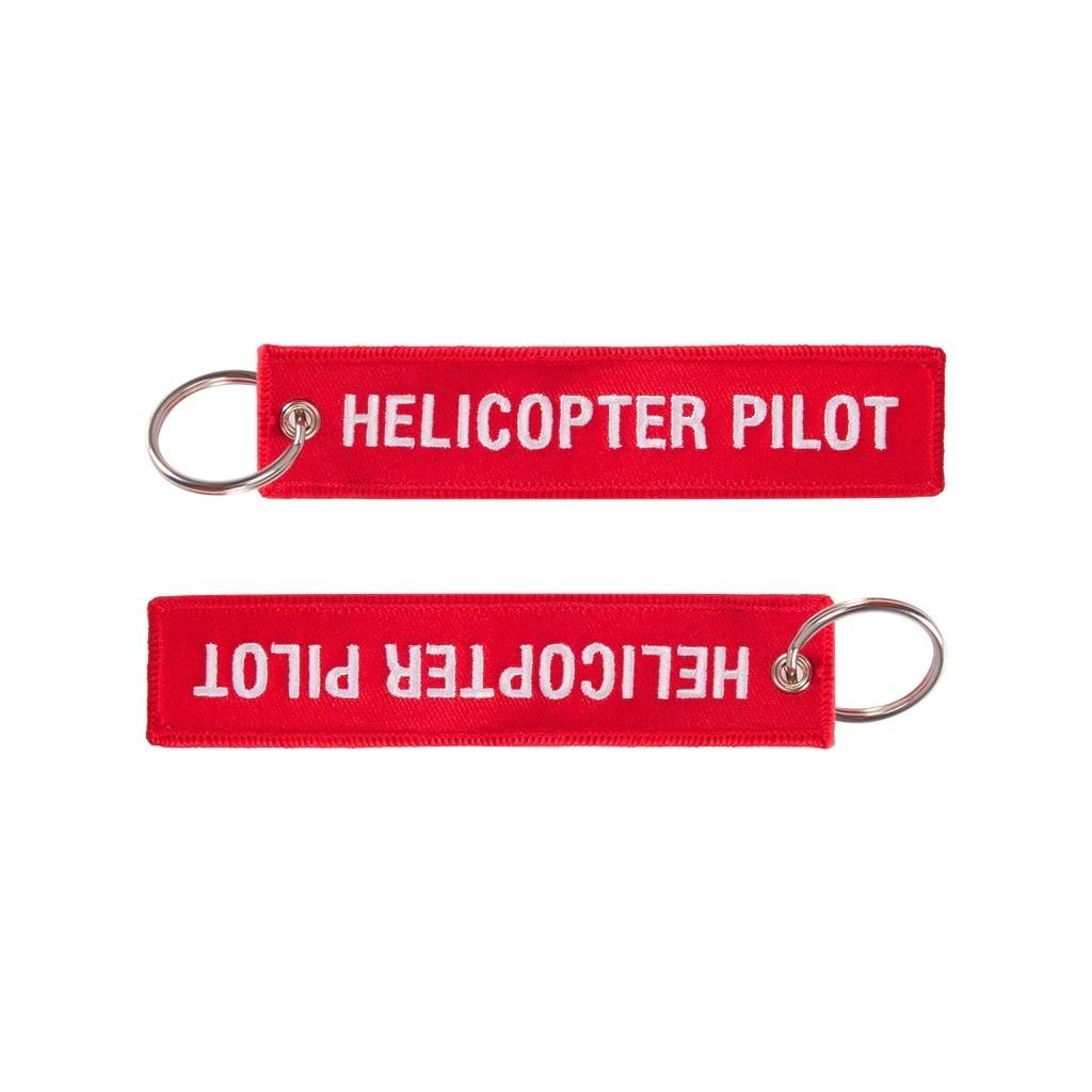 "Portachiavi ""Helicopter Pilot"""