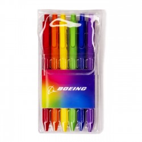 Set di penne arcobaleno