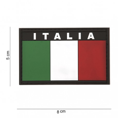 Patch Italia 3D in PVC