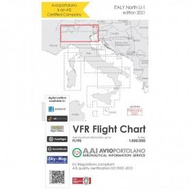 Carte Aeronautiche VFR Avioportolano edizione 2020 - LI-1 NORD