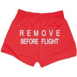 Pantaloncino Donna REMOVE BEFORE FLIGHT