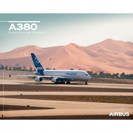 Poster Airbus A 380 - Ground View