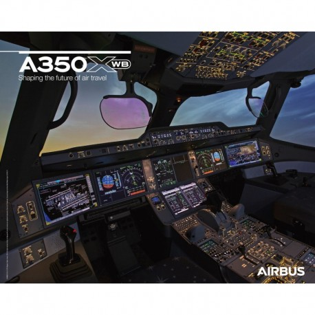 Poster Airbus A350 XWB - Cockpit view