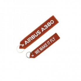"""Portachiavi Airbus A380 """"We Make It Fly"""""""