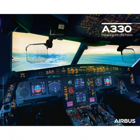 Poster Airbus A330neo - Cockpit View