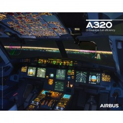 Poster Airbus A320neo - Cockpit View