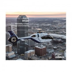 Poster Airbus H135 - Helicopters