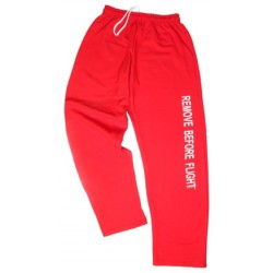 Pantalone tuta da ginnastica REMOVE BEFORE FLIGHT