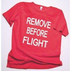 Camicia da notte REMOVE BEFORE FLIGHT