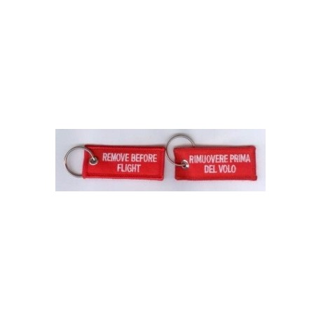 Portachiavi REMOVE BEFORE FLIGHT MINI