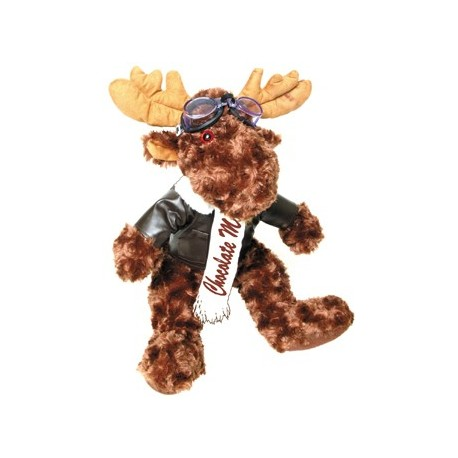 Peluche Chocolate Moose