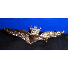 Spilla Aquila brevetto Pilota Militare 3,5 cm