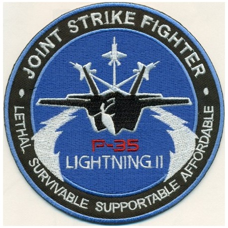 Patch F-35 JSF