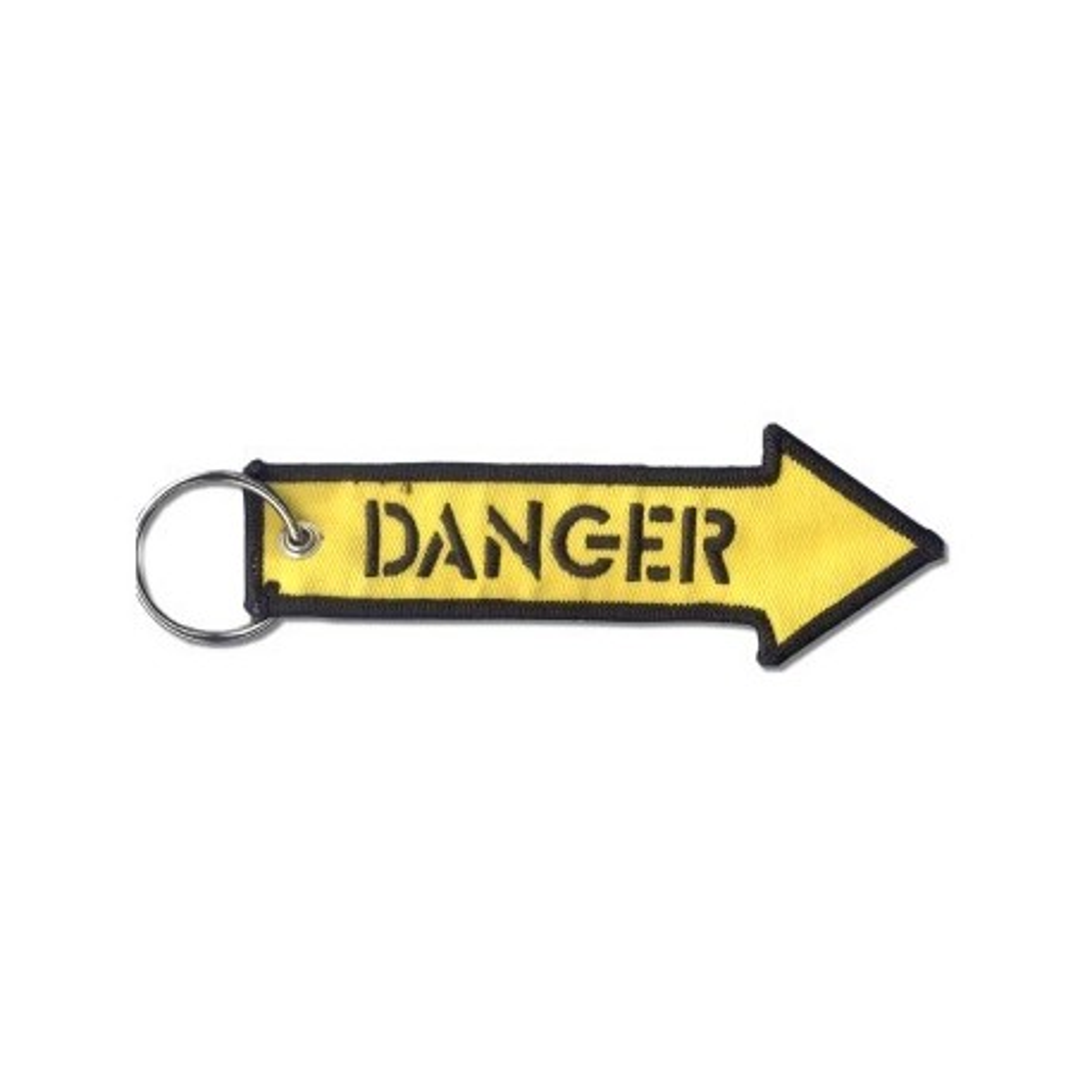 Portachiavi DANGER