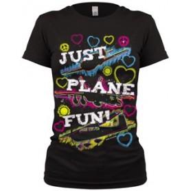 Just Plane Fun T-SHIRT