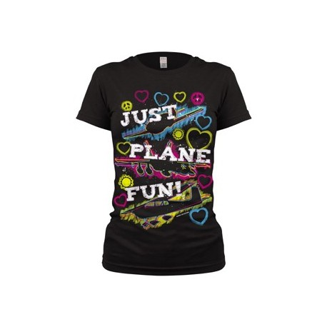 Just Plane Fun T-SHIRT